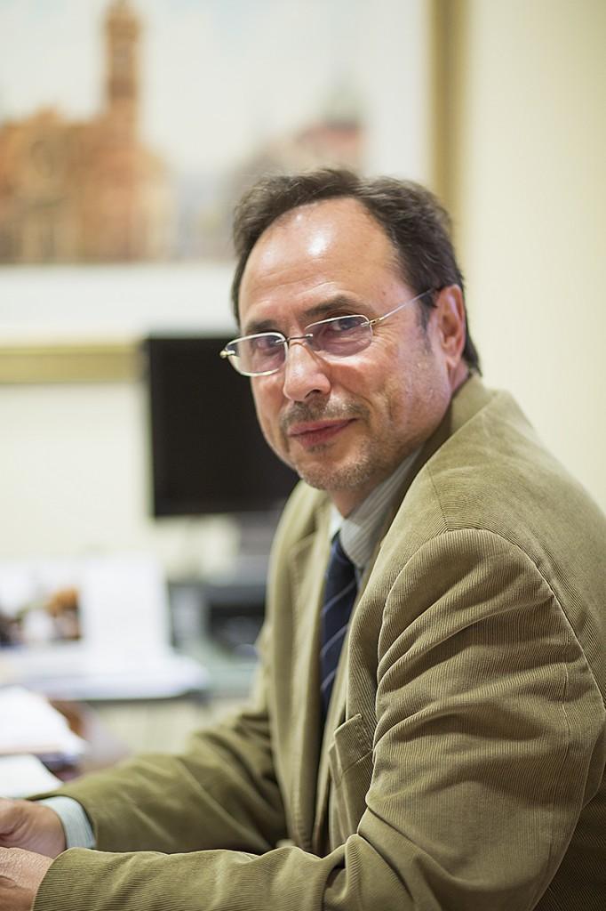 El profesor Vicent Soler. Foto Sergi Albir